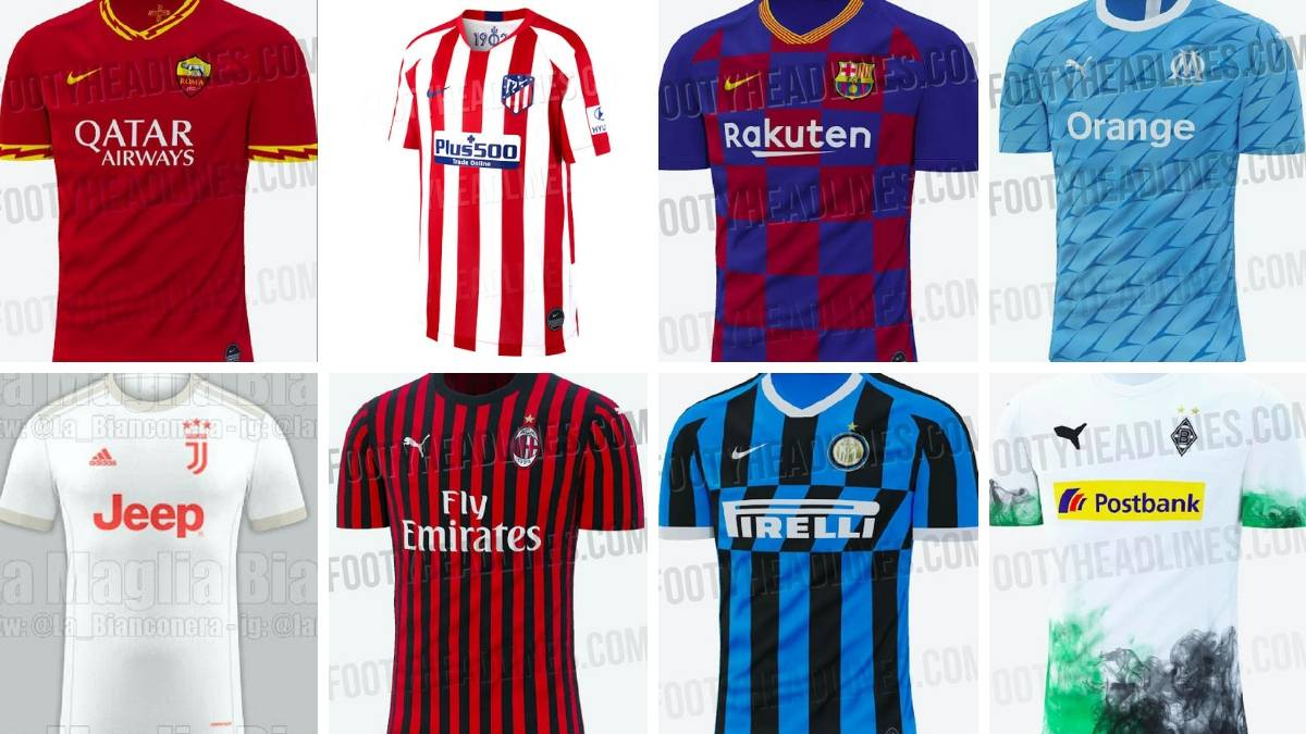 5f5ff910f 2019/20 kits: New shirts leaked so far - Liverpool, Real Madrid... - AS.com