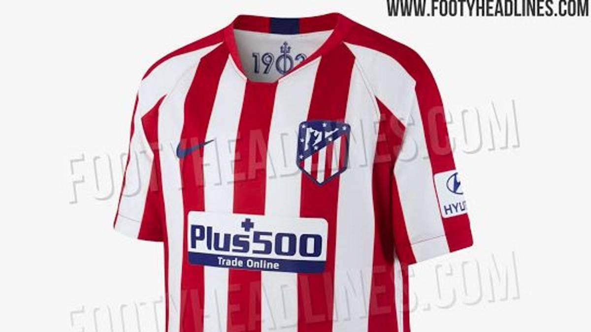 d47c7590a2c Filtran la camiseta de la primera equipación del Atlético 19 20 - AS.com