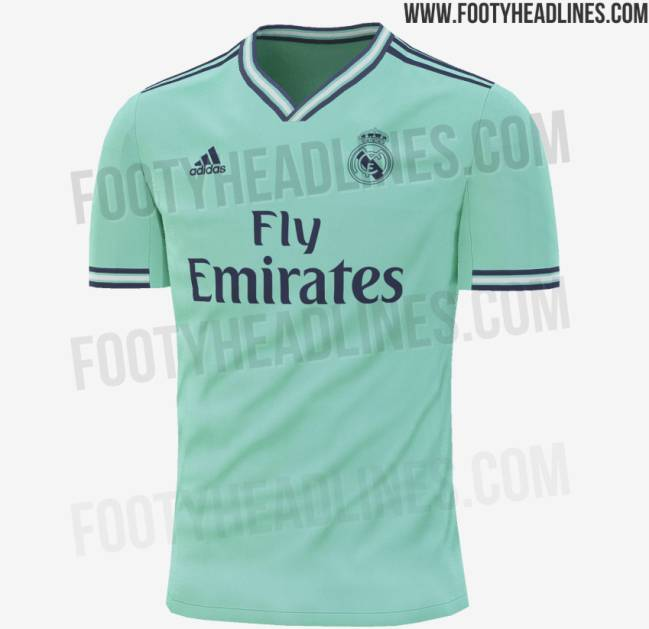 Posible tercer jersey del Real Madrid 2019-2020 - footyheadlines.com