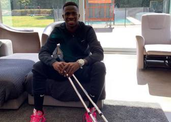 Vinicius the talk of Brazil even when he's out injured