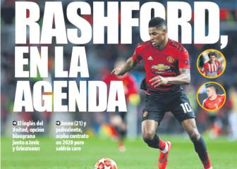 Rashford on Barça summer list - Catalan press