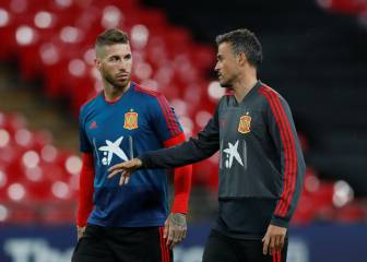 Ramos sends support message to manager Luis Enrique