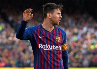 Messi's eighth LaLiga season bagging 30 or more goals