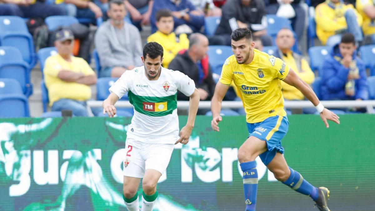 ac2eb4db Las Palmas 0-1 Elche: resultado, gol y resumen del partido - AS.com