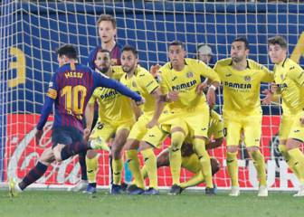 Late Messi free-kick deals Villarreal hammer blow