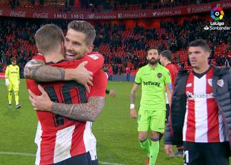 El Athletic vence al Levante de penalti en el 93 y sigue lanzado
