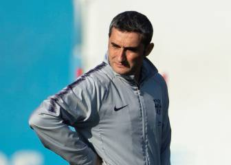 Valverde could go back to a 4-4-2 against Atlético Madrid