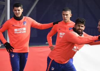 Diego Costa and Morata eyeing return against Barcelona