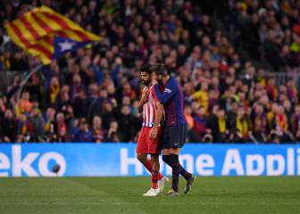 Piqué's words to Diego Costa in aftermath of striker's red card