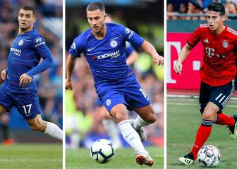 Real Madrid: Kovacic and James to cover Chelsea's Hazard fee