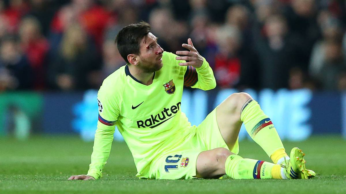 Messi has not scored in the quarter for more than six years