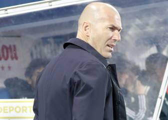 Zidane starting to offer clues as to who's set for Madrid exit