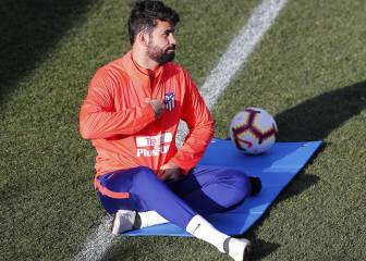 Diego Costa refuses to take part in Atlético training