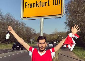 Frankfurt (2) Benfica fans (0) as road trip goes horribly wrong
