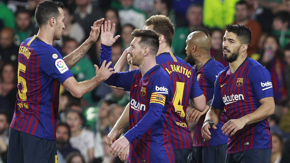 Barça can be champion on Wednesday if they win on Tuesday