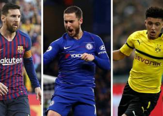 Messi, Hazard and the rest... Europe's only 'double doubles'