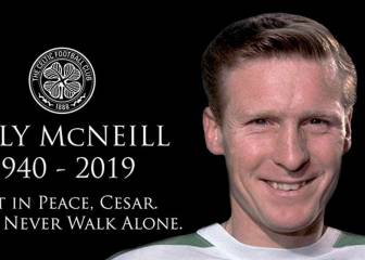 Fallece Billy McNeill, mito del Celtic y 'One Club Man' 2019