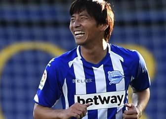 Inui vuelve a entrenar y estará disponible ante el Athletic