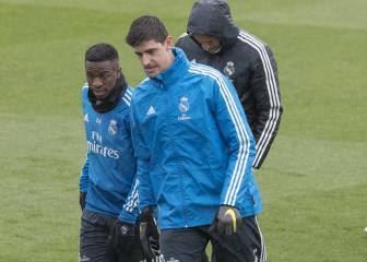 Courtois back for Madrid but Zidane won't risk Vinicius