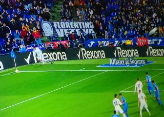 Fans call for Madrid president's resignation in Getafe draw