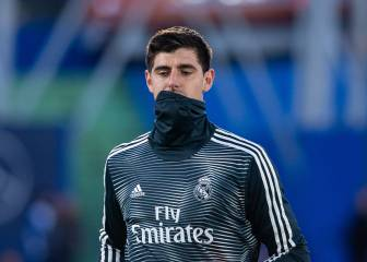 Courtois gets first Real Madrid chance under Zidane