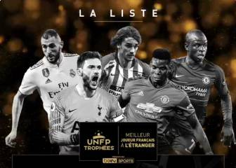 Benzema and Griezmann battle for best French player award