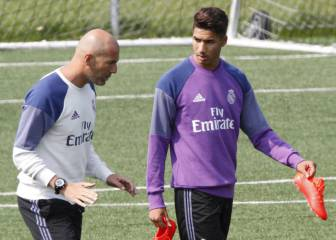 Zidane wants to bring Achraf back early from Dortmund loan