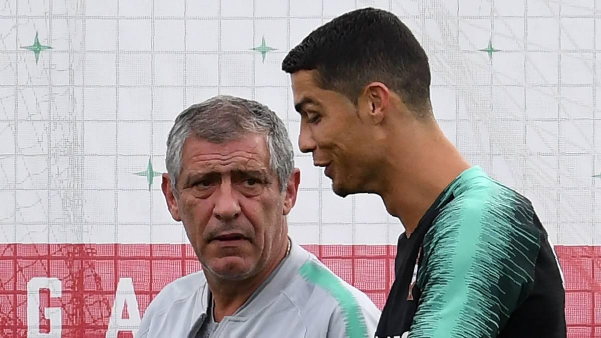 Fernando Santos confirma a Cristiano en la Liga de Naciones