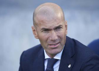Six Zidane decisions surrounded by question marks