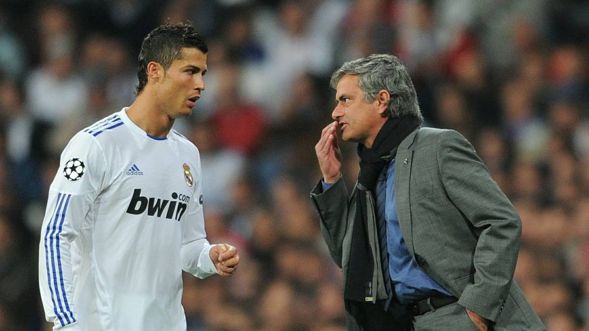 Cristiano propone a Mourinho para entrenar a la Juventus