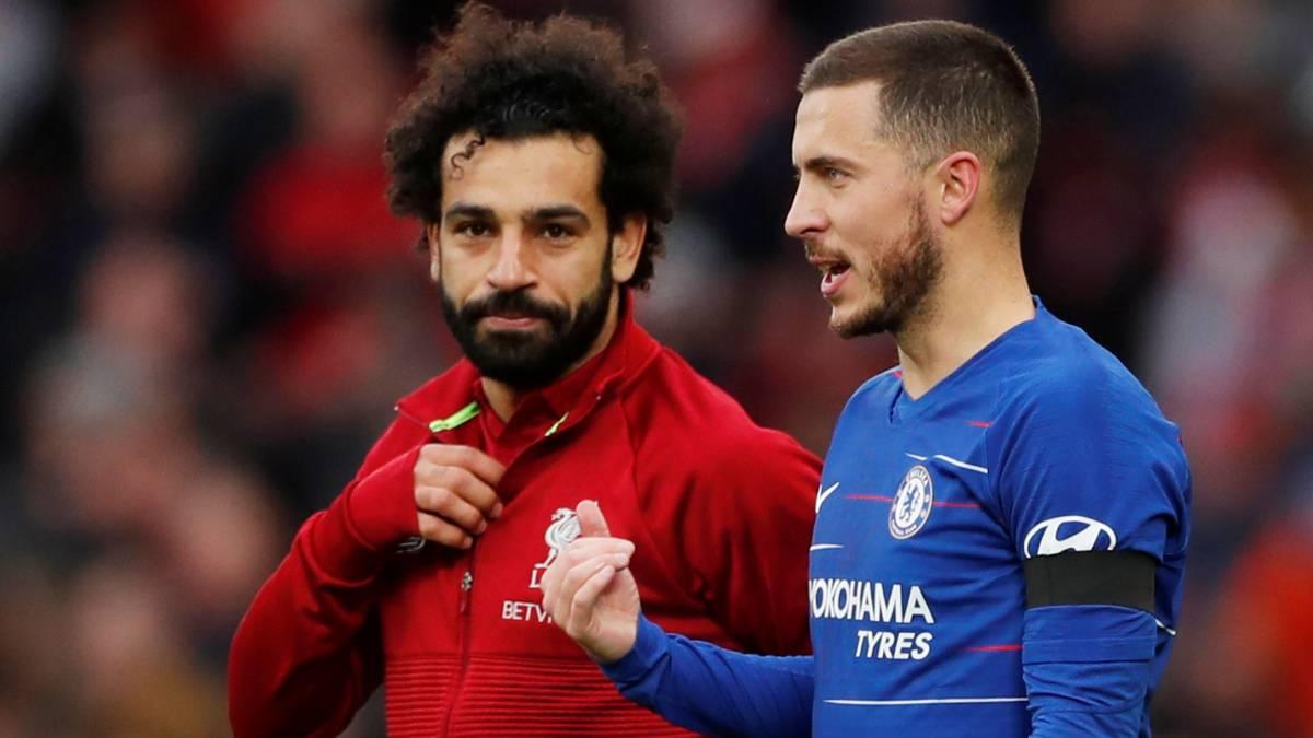Hazard y Salah