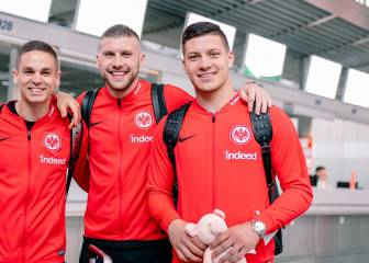 Madrid fear Jovic injury as player flies to China with Frankfurt