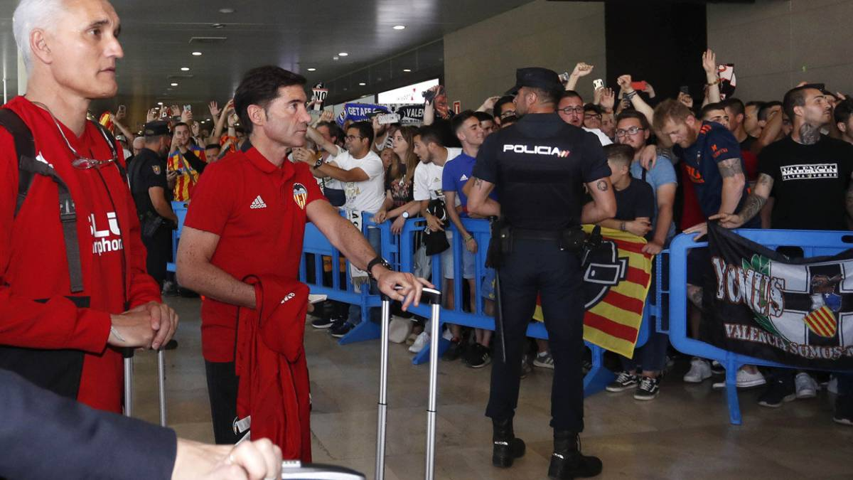 Marcelino, going to Seville with Valencia.