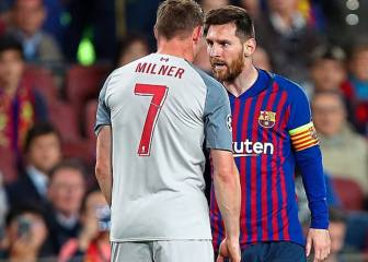 Messi calls Milner a 'burro' but Liverpool man understands