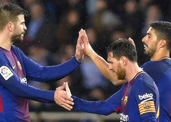 Messi, Piqué and Suárez call crisis talks on Barça team bus