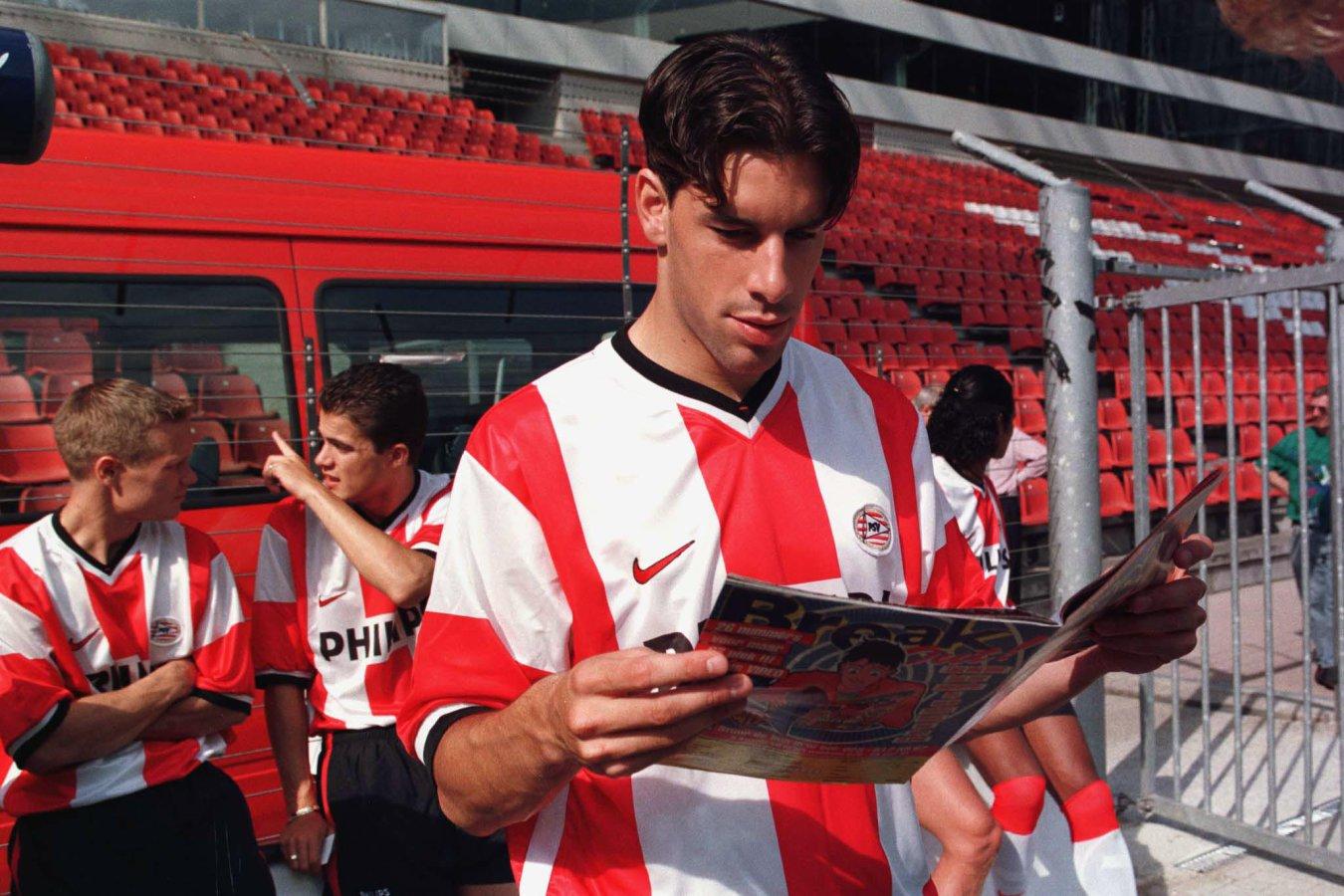 Goleadores en Europa. Ruud van Nistelrooy