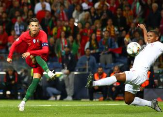 El notable triplete de Cristiano que puso en la final a Portugal