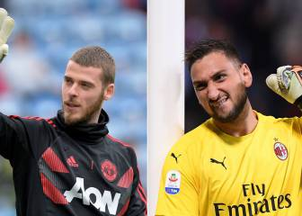 PSG's De Gea move could see United target Donnarumma