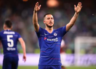 Chelsea accept Real Madrid offer for Eden Hazard