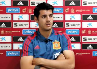 Morata recalls Chelsea dark days and grief on the street...
