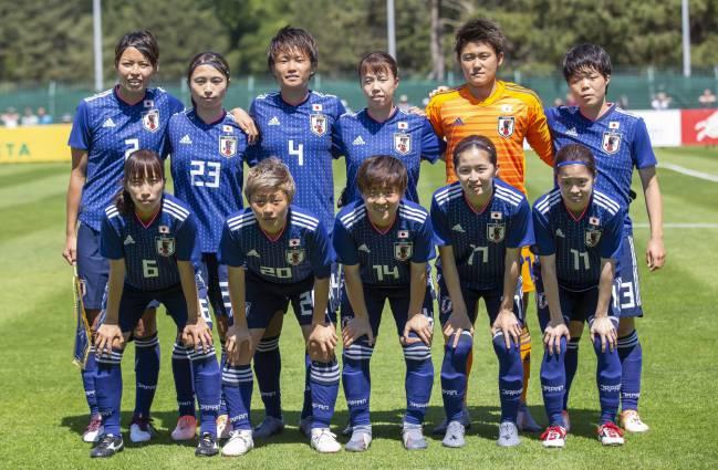 Japón, una de las favoritas a la Copa del Mundo femenina.