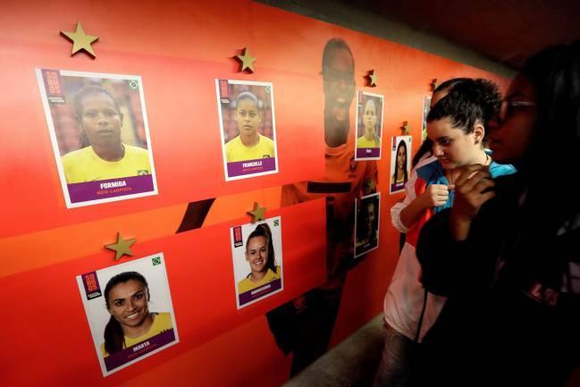 Brasil, una de las favoritas al Mundial femenino de Francia.