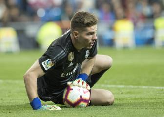 Real Madrid think it's time for Luca Zidane to move on