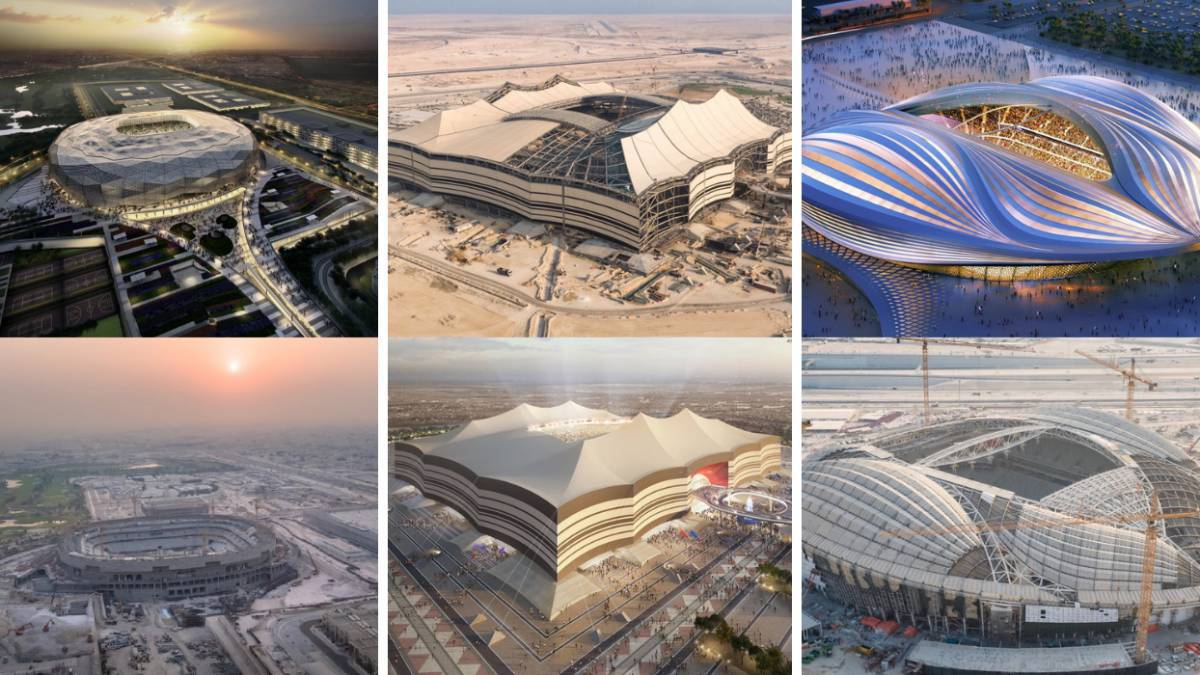 Image result for qatar 2022 stadiums""