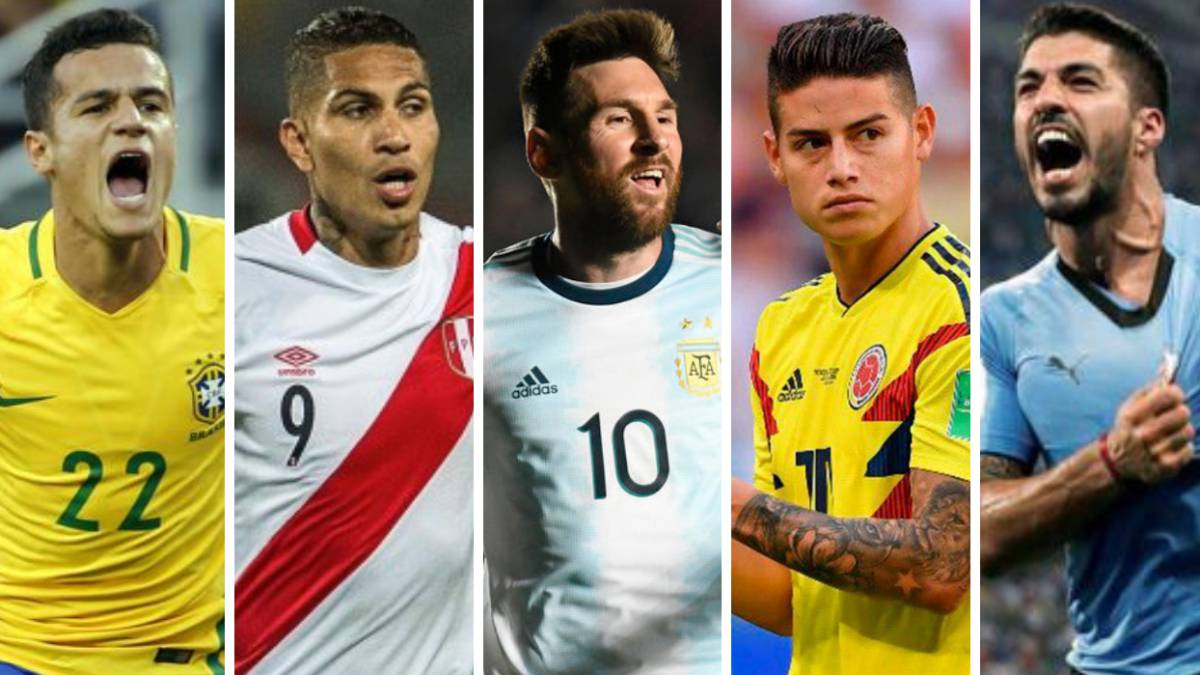 CopaAmérica2019:迎接12种选择的明星