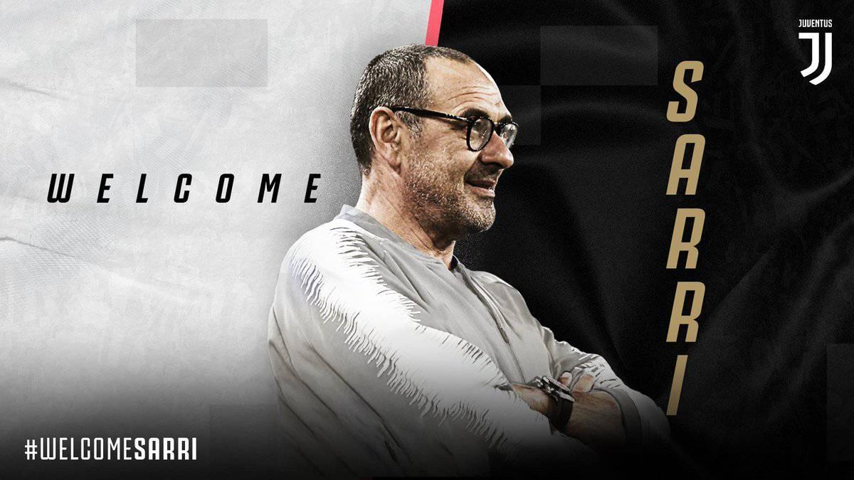 La Juventus hace oficial a Sarri como nuevo entrenador de Cristiano