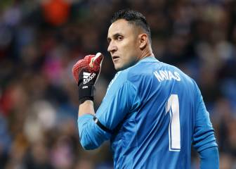 Benfica president in Madrid to negotiate Keylor Navas deal
