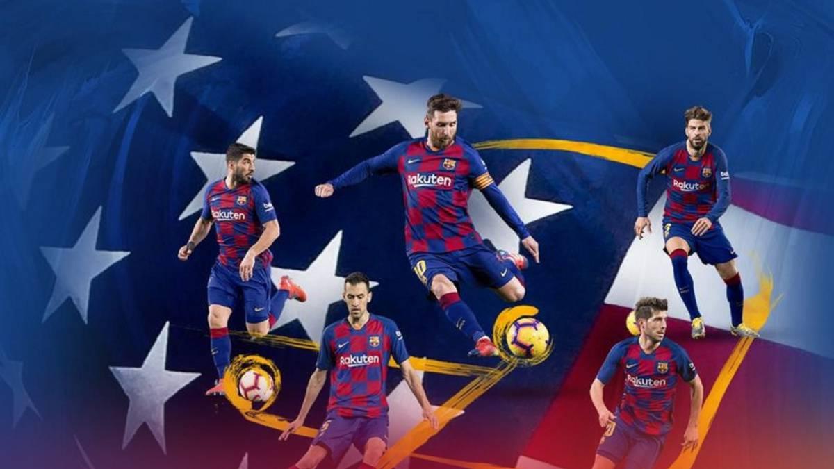 Oficial: doble duelo entre Barça y Nápoles, en Miami y Michigan