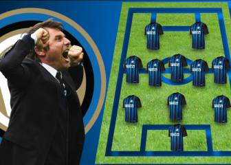 Antonio Conte's predicted starting XI at Inter Milan