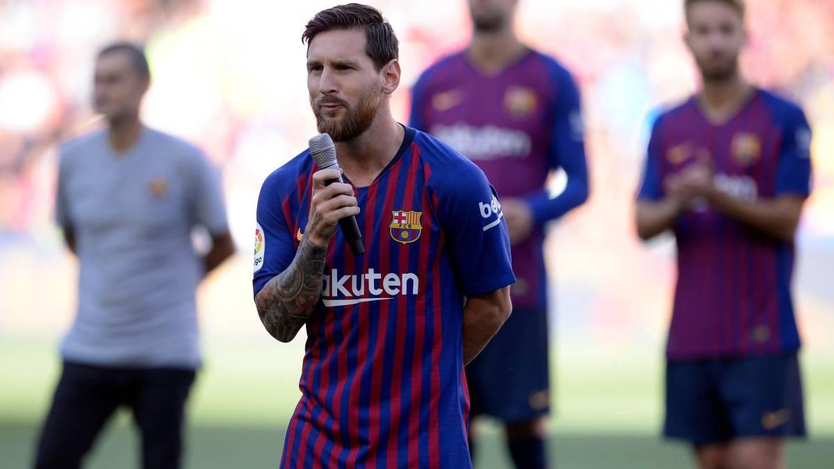 Messi cumple 32 años con una ampliación de contrato pendiente